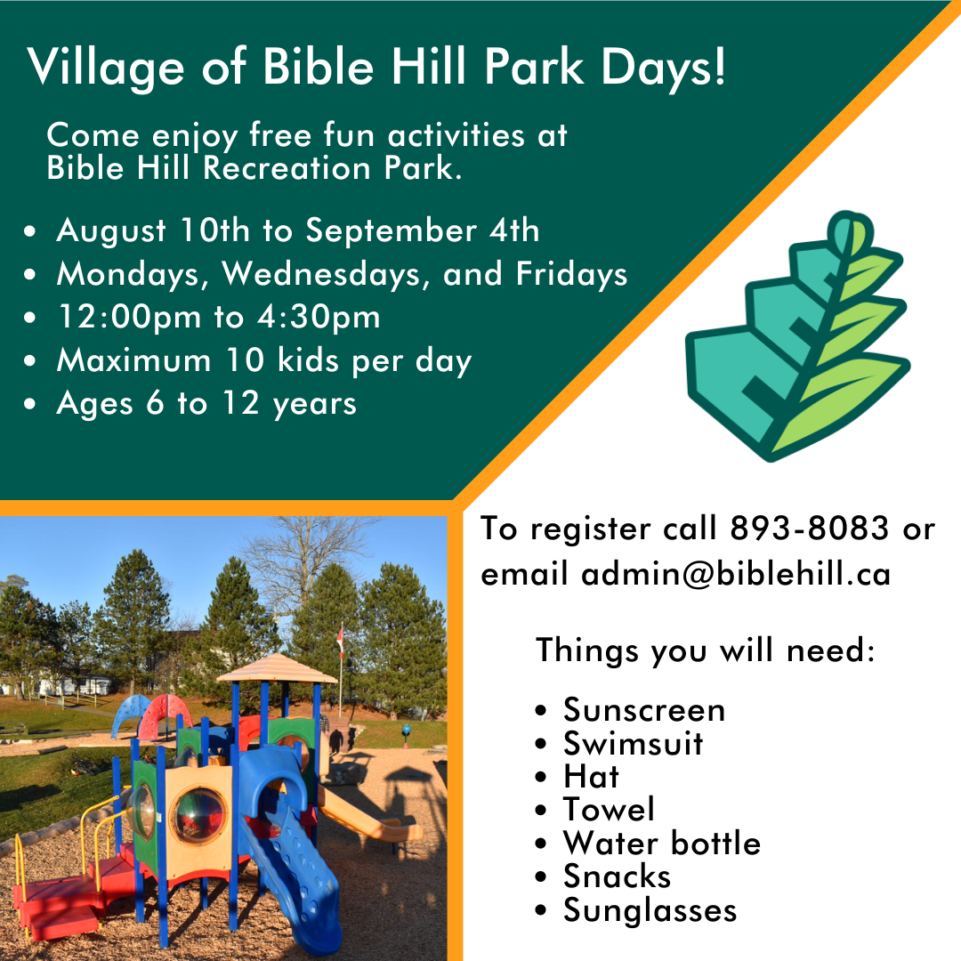 Bible Hill Recreation Park
